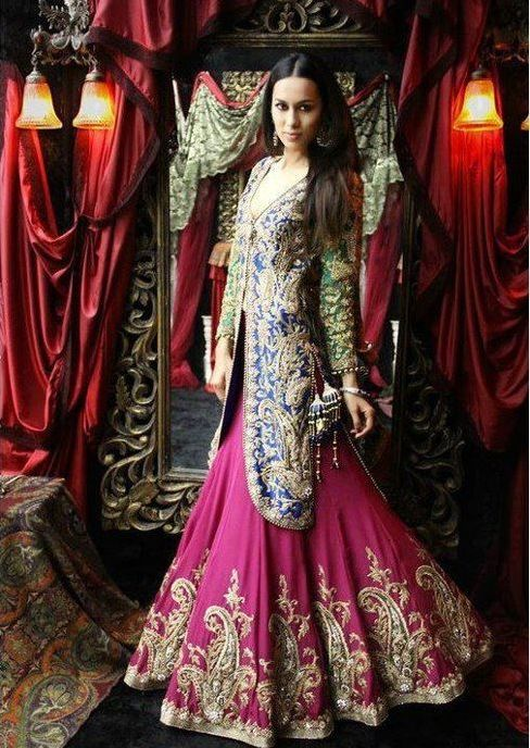 #WeddingDressses, #IndianWeddings, #BridalDresses, #IndianWear, #IndianBridalWear, #IndianDresses  www.shadesandyou.com