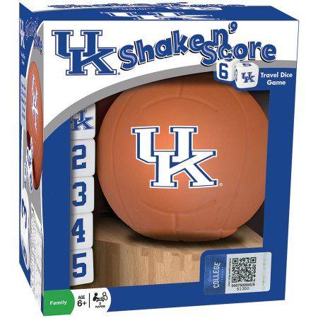 MasterPieces Ncaa Kentucky Basketball Shake n' Score Dice Game, Multicolor