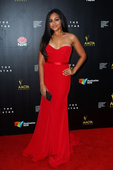 Jessica Mauboy Photos Photos - Jessica Mauboy arrives at the 2nd Annual AACTA Awards at The Star on January 30, 2013 in Sydney, Australia. - 2nd Annual AACTA Awards - Arrivals & Awards Room