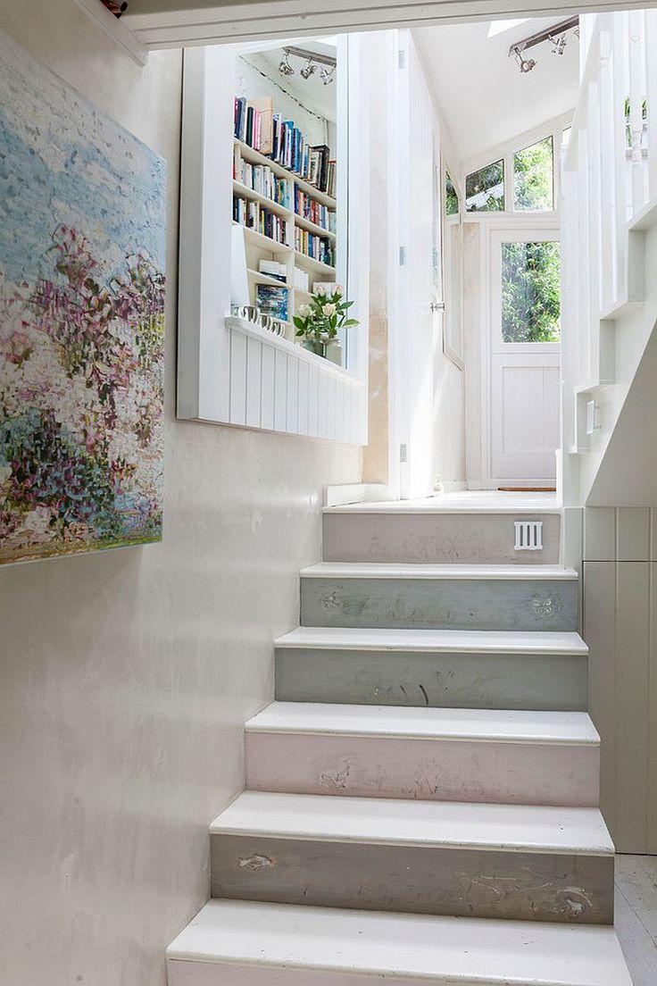 Très Oltre 25 fantastiche idee su Decorare scale su Pinterest | Pittura  AY17
