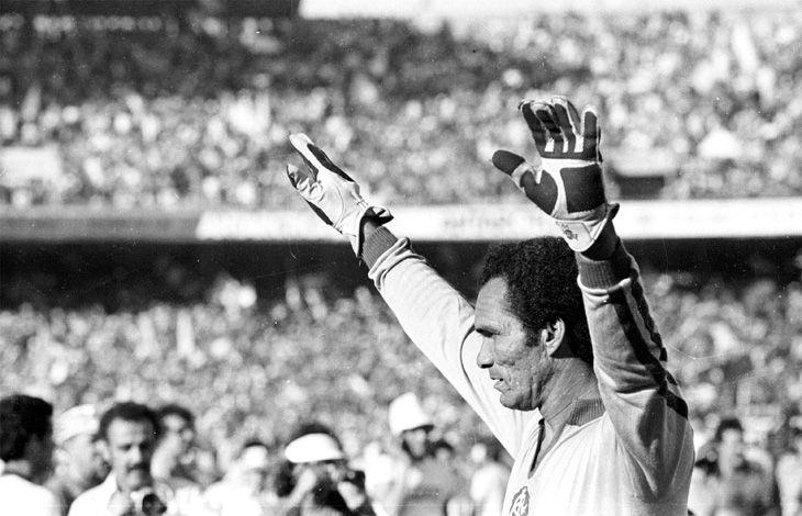 """Considerado o melhor goleiro da história do Botafogo, Haílton Corrêa de Arruda, o Manga, tinha físico privilegiado, coragem, elasticidade, mãos enormes - que sofreriam inúmeras fraturas -, firmeza no jogo aéreo, ótima colocação e reflexo. O """"Dia do Goleiro"""" é comemorado em homenagem ao dia do seu aniversário, 26 de abril."""