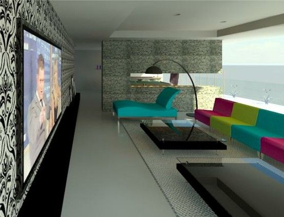 Living Room Design In Autodesk Revit