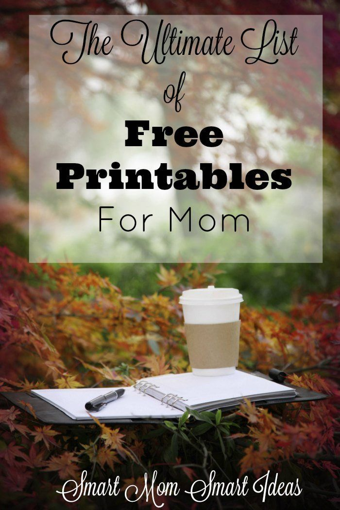 Do you love free printables? Don't miss this list of 60 FREE printables for moms! Check it out today.
