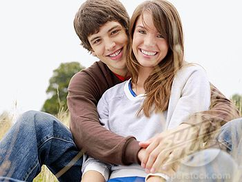 teen Couple pictures | SuperStock - Happy teenage couple