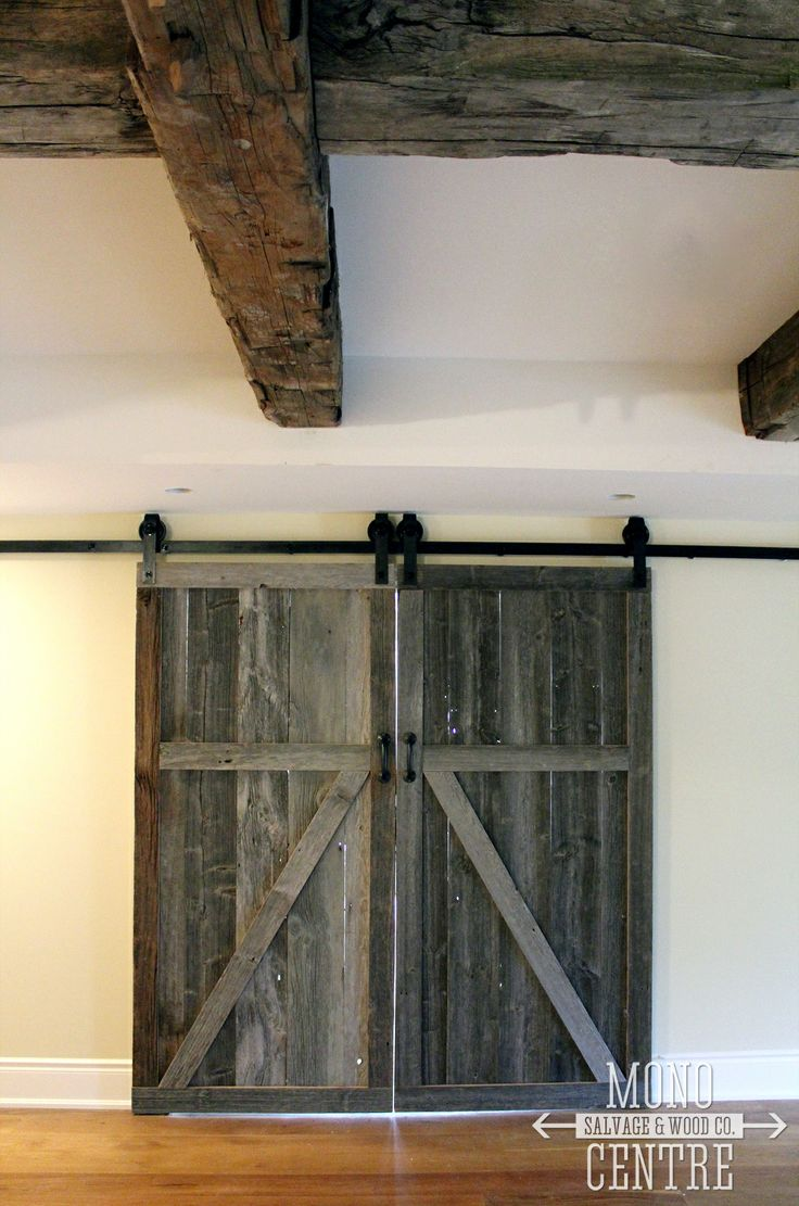 1000 images about barn wood flat track double doors on for Local reclaimed wood