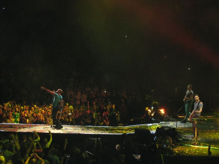 I took this photo when Coldplay came to Dallas last year.  What an amazing night...
