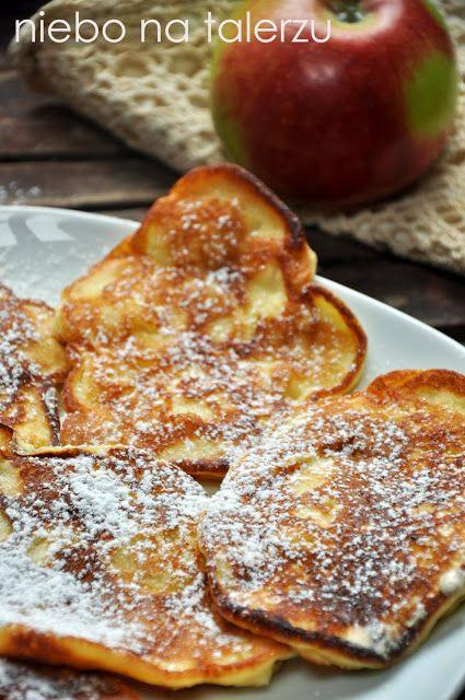 Łatwe placki z jablkami