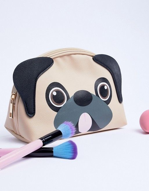 2f715a17e8fb Typo Pug Makeup Bag in 2019