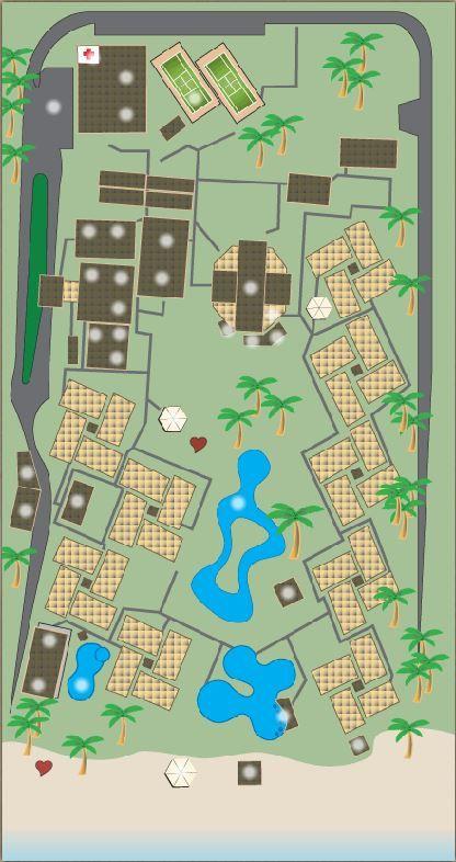 Dreams Palm Beach, Punta Cana, Resort Map (click to go to interactive Resort Map) - http://www.dreamspalmbeach.com.do/drepb/resort-map.html