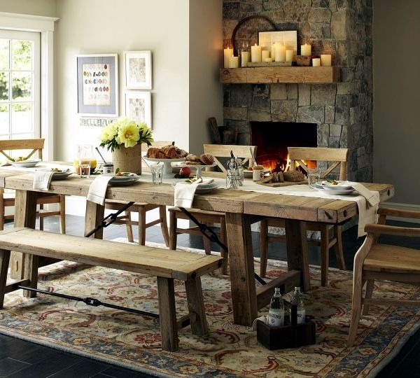 Benchwright Fixed Dining Table: 10 Eco-friendly Products And Furniture For Your Home