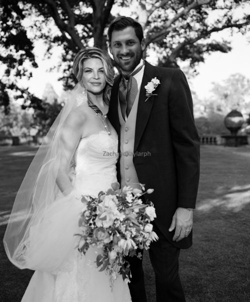 "Weddings Pictures Gallery: Kirstie Alley And Maksim Chmerkovskiy ""wedding"" Edit"