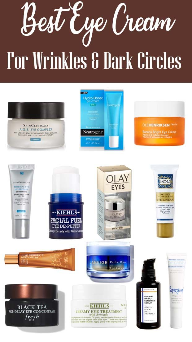 Best Eye Cream For Wrinkles And Fine Lines In 2020 Best Eye Cream Retinol Eye Cream Best Retinol Eye Cream