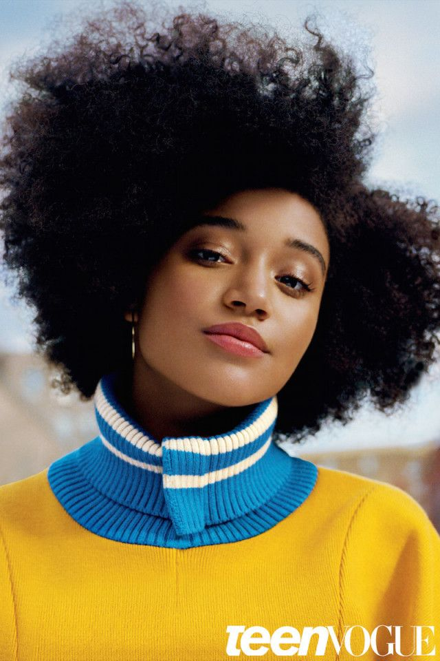 Must Read! Amanda Stenberg's 'Teen Vogue' Cover Story By Solange Is Everything | Sassy Reign