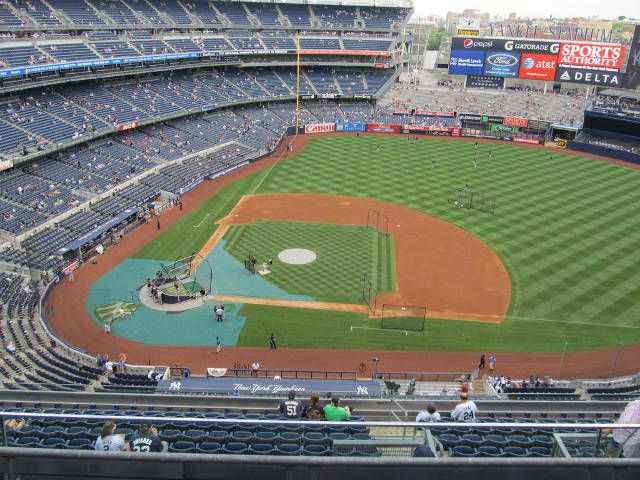 You are bidding on two (2) tickets, side-by-side, to see the New York Yankees at Yankee Stadium in the Bronx, New York. The seats are located in Grand... #bronx #indians #cleveland #yankees #york