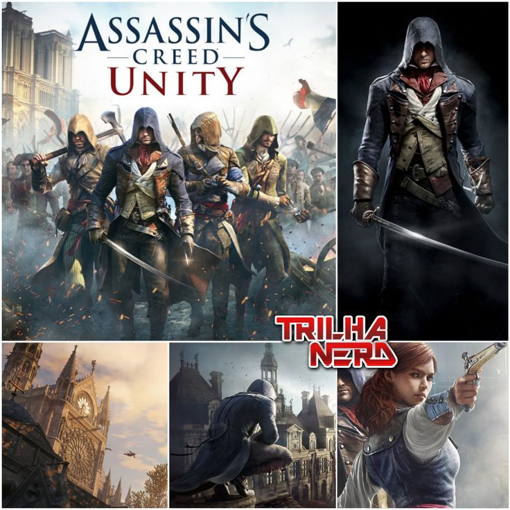 """Assassin's Creed Unity se passa em meio à Revolução Francesa. O país está em caos, a população clama por """"liberdade, fraternidade e igualdade"""". Em me..."""