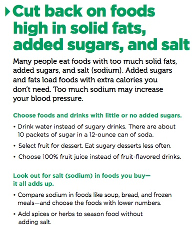how to tell youre eating too much sodium