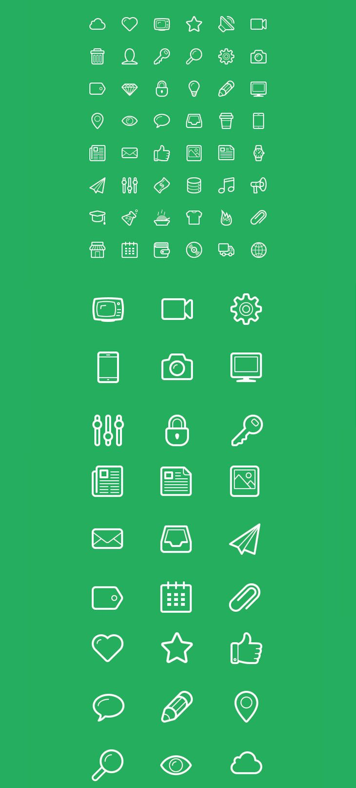 Free Icons for Web and User Interface Design # 2