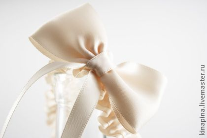 """Свадебная подвязка """"Одри"""" - свадьба,свадебные аксессуары,свадебное украшение"""