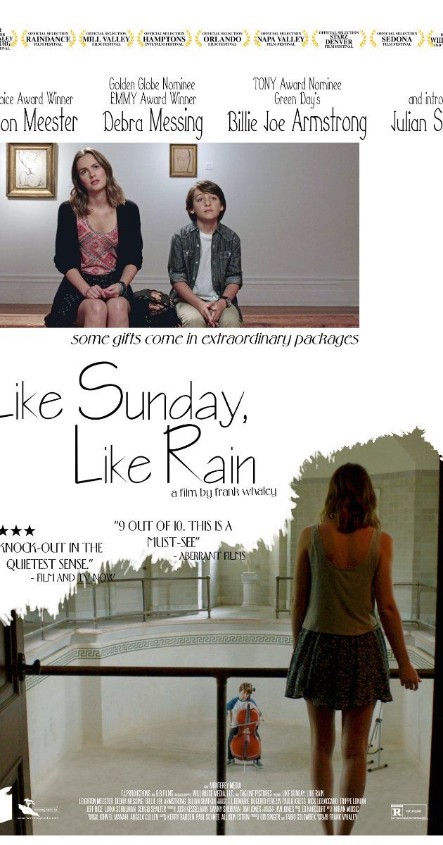Like Sunday, Like Rain (2014) is a touching film that Up highly recommend