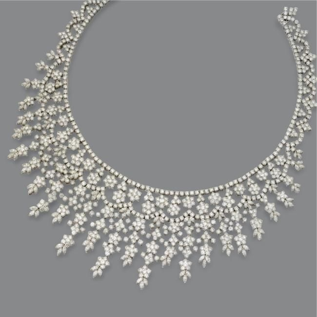 Diamond Necklace 81 cts