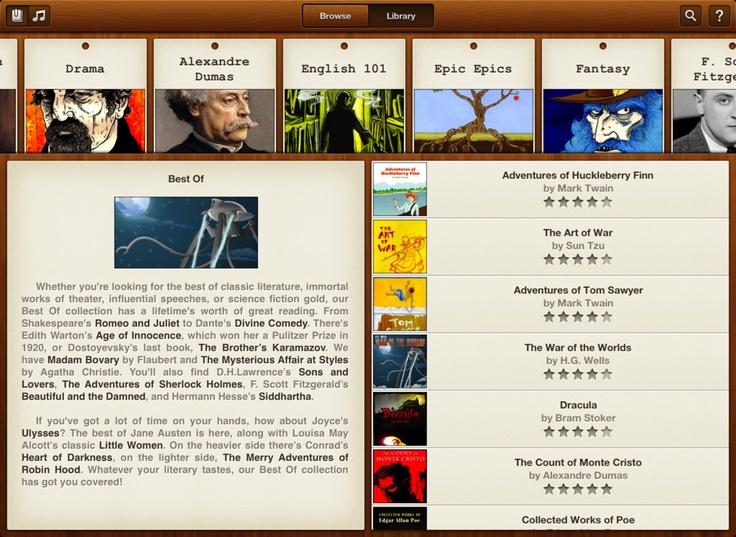 App Shopper: Books HD- 23,469 classics to go. (Books) (Free)