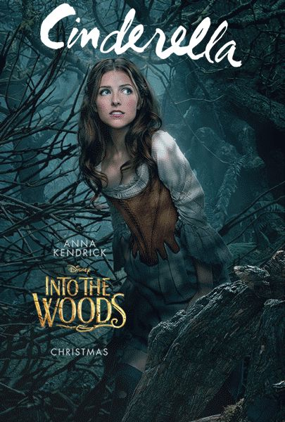 Into The Woods Gets Animated with New Character Portraits. Can't wait to see this!