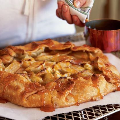 French - Apple Galette My Aunt Tauntine, never gave herself credit for making great French food.
