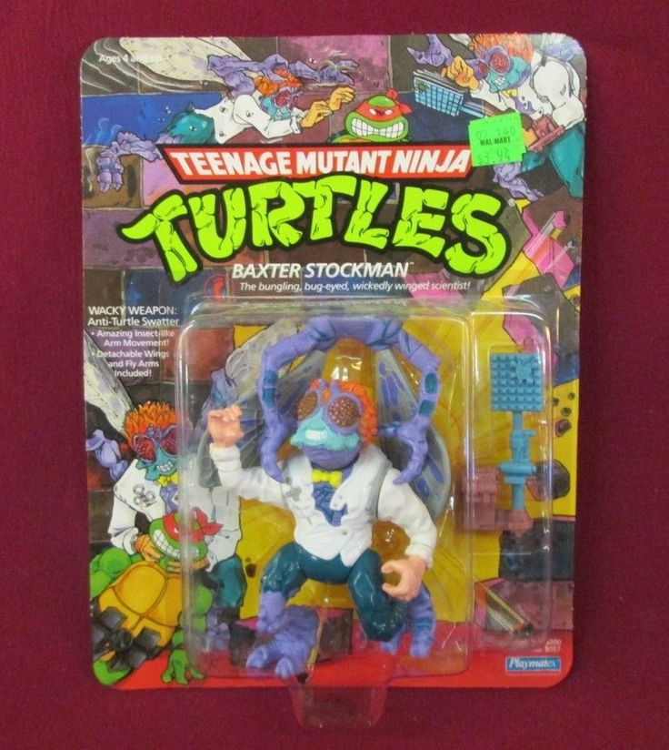 1989 – 1992 The Vintage Artwork Figure Carboard Characters Cameos - The Technodrome Forums