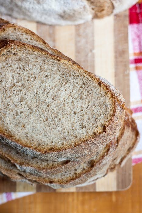 Od kiedy upiekłam po raz pierwszy chleb polski minęło już ponad pół roku. W tym czasie piekłam go kilkukrotnie. Za równo na drożdżach, jak ...