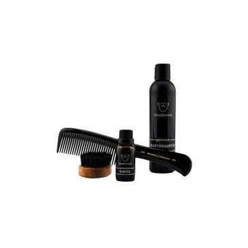 blackbeards präsentiert das Bartpflege Set Deluxe: Das ist die High End Kombination eines Bartpflege Sets bestehend aus #Bartöl, #Bartshampoo, #Bartbürste und #Bartkamm. #blackbeards #Beardcare #Beardoil #Beardbrush #Beardcomb #Beardwash Onlineshop: www.blackbeards.de