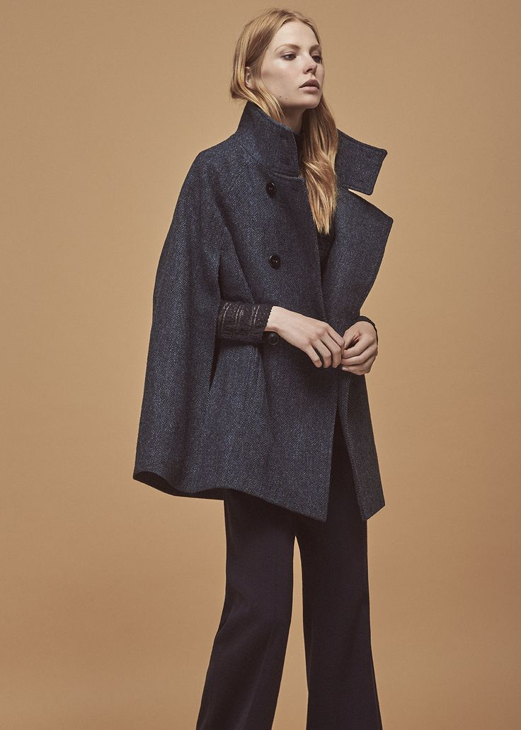 #original #sands&hall #tweed #harristweed #navygrace #luxury #cape #heritage #womensfashion #autumnfashion #winterfashion #fashion #style