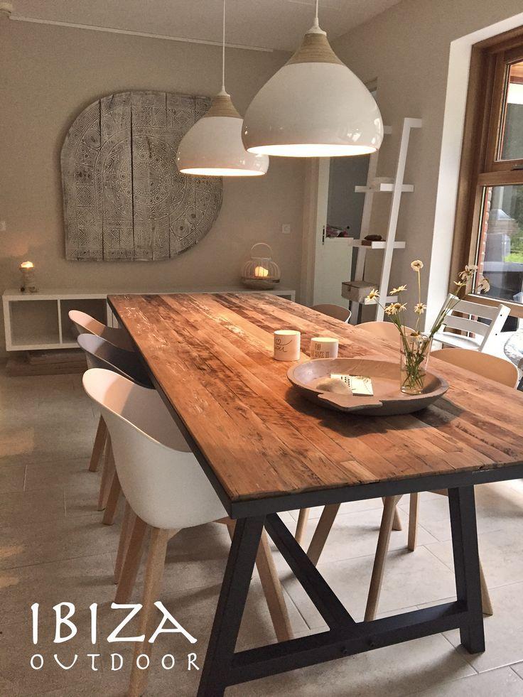 25 beste idee n over houten lampen op pinterest houten lamp hout en hout ontwerp - Idee van de eetkamer ...