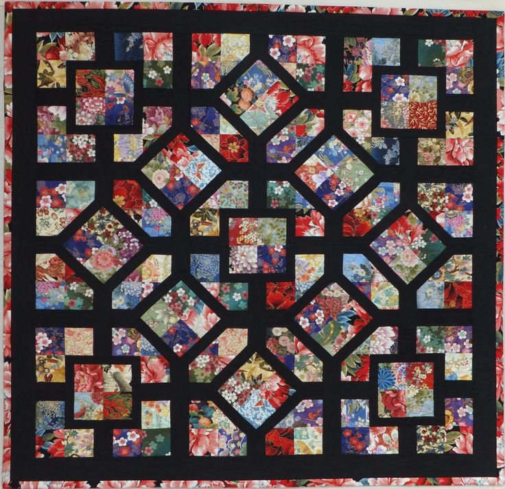 Simple Four Patch Blocks Made From 3 1 2 Strips Or
