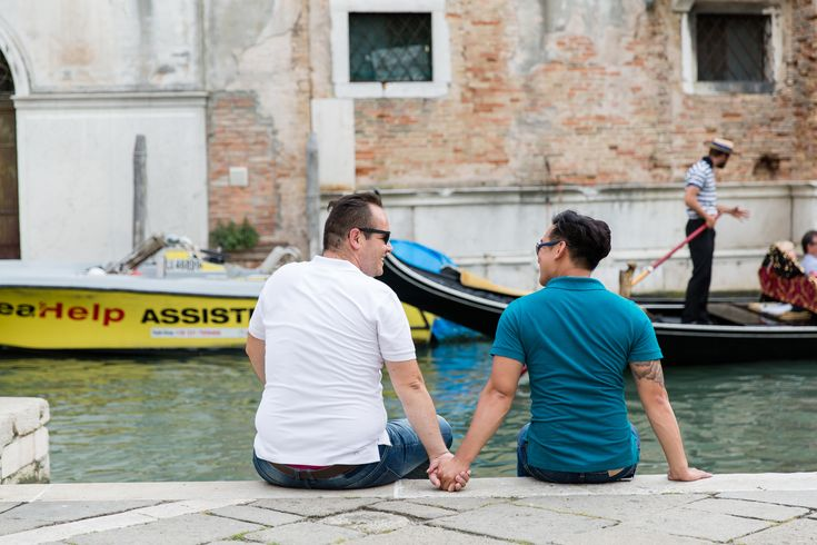 Same sex marriage,Same Sex Engagement Session Venice - Gay destination wedding,Gay and lesbian Destination Engagement photographer in Venice.