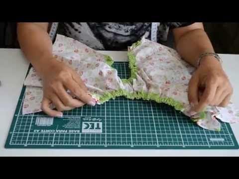 Como fazer calcinha bunda rica - YouTube