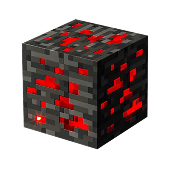 If you dream of living in your own Minecraft creations, we think you'd like to sleep by the warm glow of the Minecraft Redstone Ore Light. It's guaranteed to keep the boogie oogie pigmen from coming out of your closet to murder you in your sleep. Tap once for low light, a second time for medium, and a third time for bright. (Five is right out.) ((Actually, tapping it five times will bring you back to low.)) Of course, you could get a truckload of these and start building you...