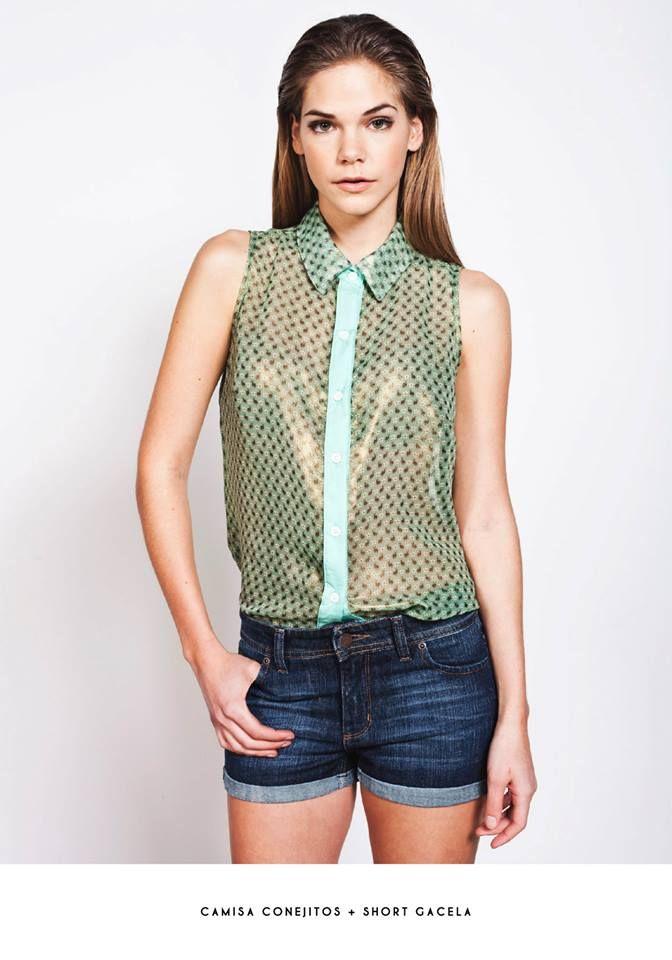 Coleccion Primavera-verano de La Cofradia, Camisa Conejitos