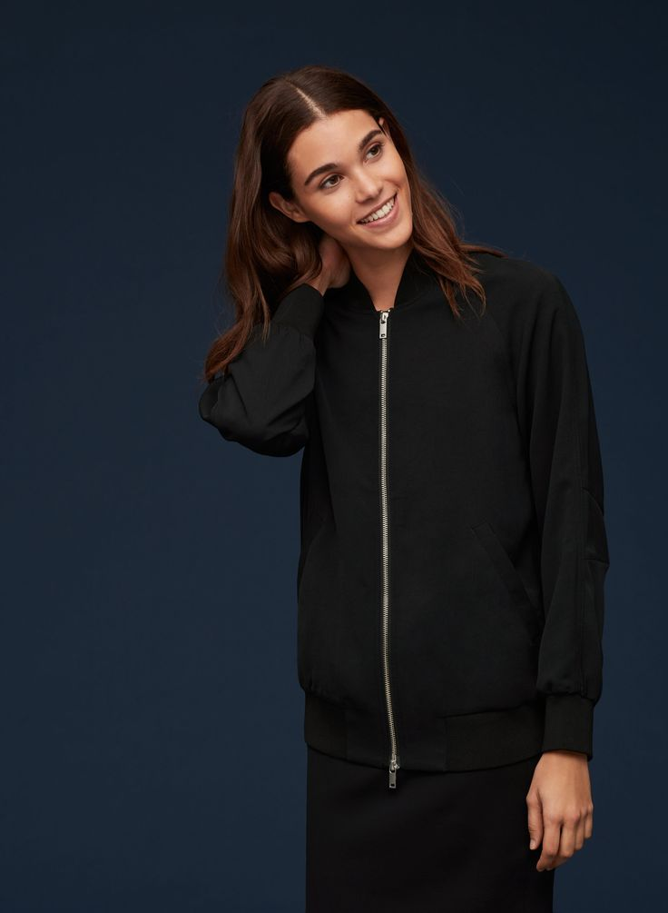 The Group by Babaton LIEBLING BOMBER | Aritzia