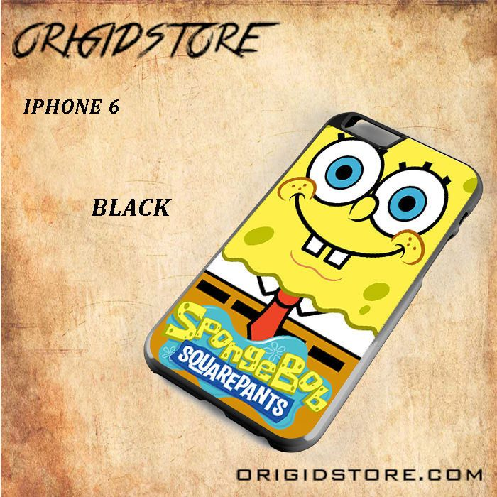 Spongebob Squarepants Smile So Cute For Iphone 6 Snap On and 3D Case