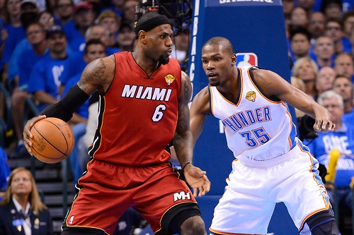 James Vs. Durant, Game 1.