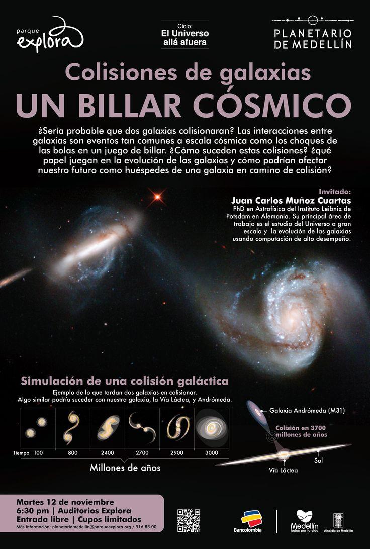 Colisiones de Galaxias