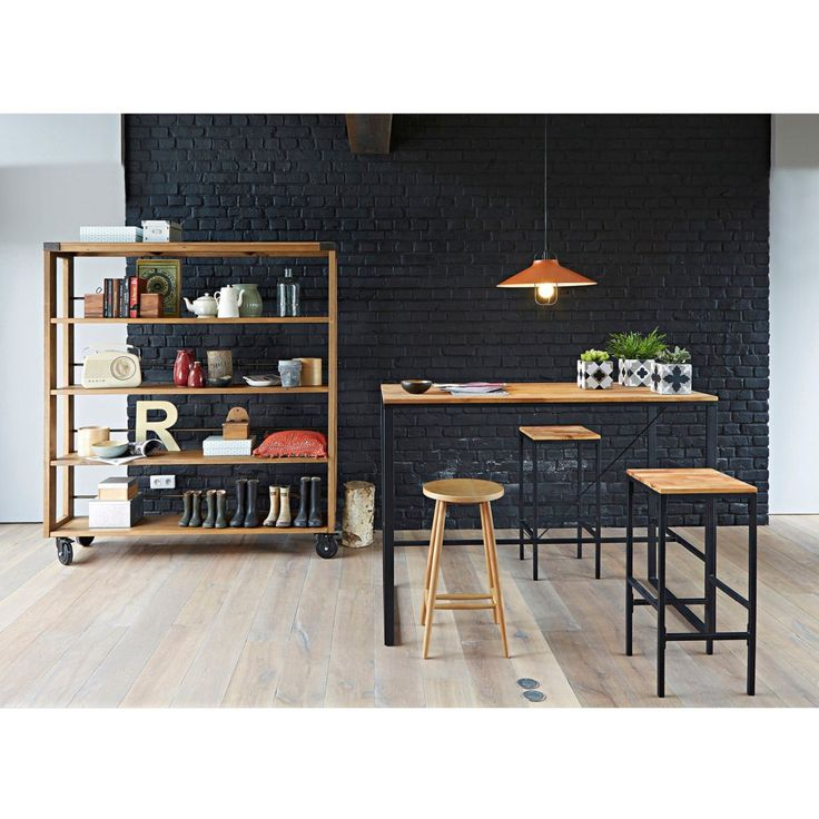 Mesa de bar alta, hiba La Redoute Interieurs | La Redoute