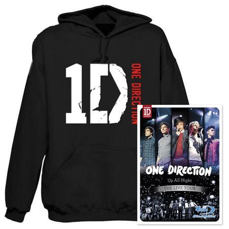 Ome Direction vas happenin hoodie & Up All Night - the Live Tour