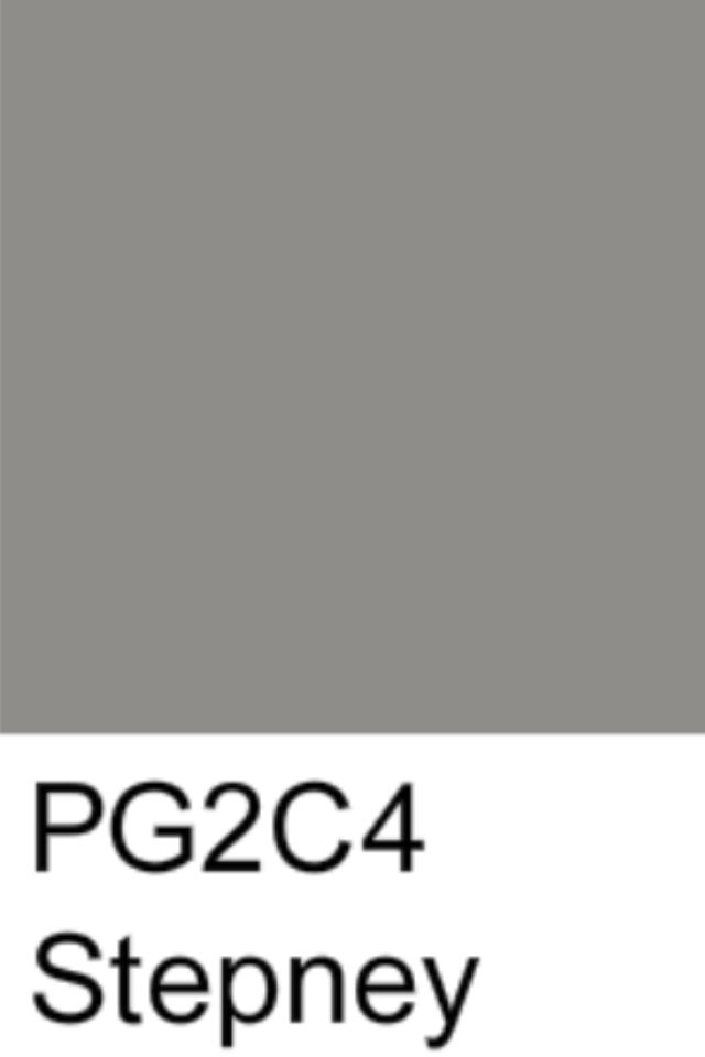 I think I've found a grey that I love that actually looks like grey!! Dulux - Stepney