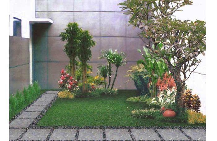 Gambar Cara Menanam Tanaman Bunga Halaman Belakang Rumah