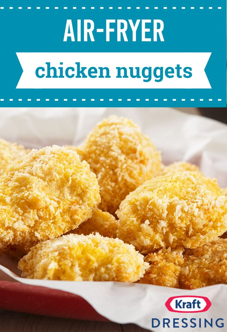 Airfryer chicken nuggets strike gold with this creative