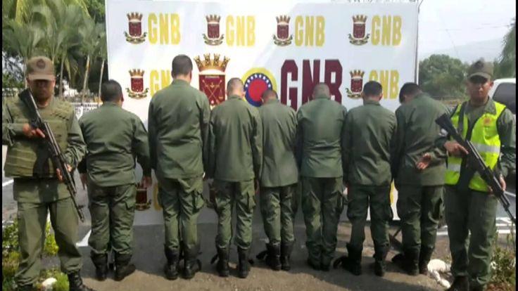 Siguen cayendo narco militares en Venezuela