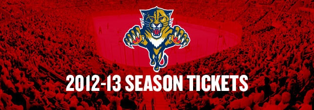2012-13 Ticket Information - Florida Panthers - Tickets