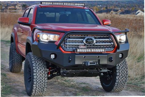 Expedition One 2016 Tacoma Front Bumper [TACOFB100-2016] - $1,449.99 : Pure Tacoma Accessories, Parts and Accessories for your Toyota Tacoma