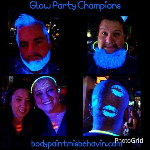 #glowparty,  #blacklightfacepaint,  #bodypaintmisbehavin,